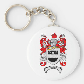 BRADLEY FAMILY CREST -  BRADLEY COAT OF ARMS KEYCHAIN