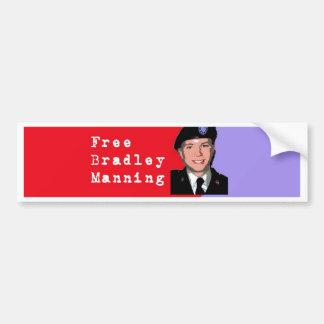 Bradley Manning Bumper Stickers