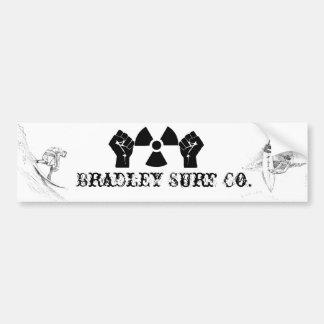 Bradley Surf Co. Bumper Sticker