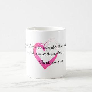 Brag about grandma mug
