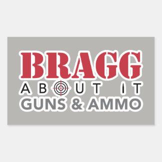 Bragg About It - Sticker