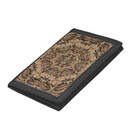 Brahmin Moth Tri-fold Wallet