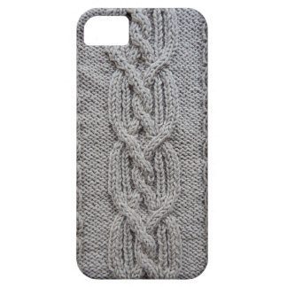 braided knit pattern iPhone 5 case