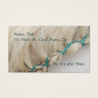 Braided Mane Business Card