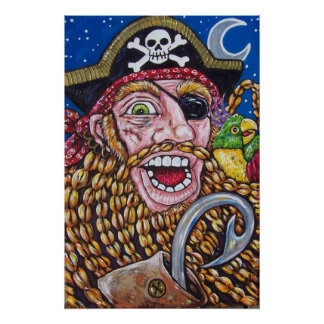 braided pirate poster