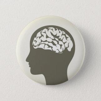 Brain5 2 Inch Round Button