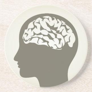 Brain5 Beverage Coaster