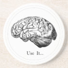 Brain Anatomy - Use It Coaster