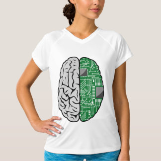 Brain And Motherboard Womens Active Tee