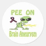 Brain Aneurysm Stickers