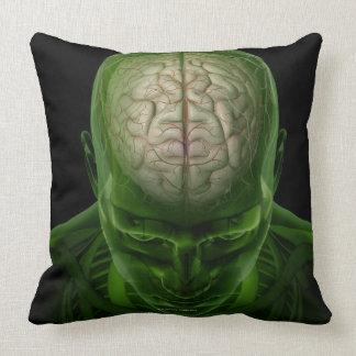Brain Arteries Throw Pillow
