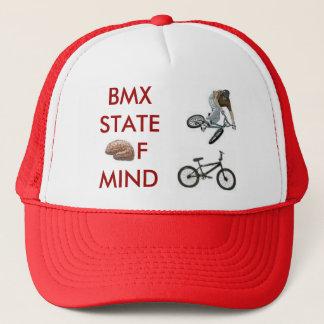 brain, bmxer, bmx bike, BMXSTATEofmind Trucker Hat