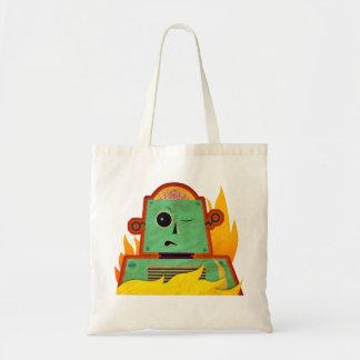 Brain Bot Tote Bag