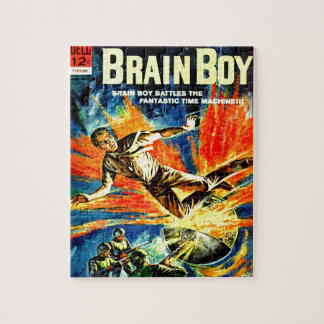 Brain Boy and the Time Machine Jigsaw Puzzle