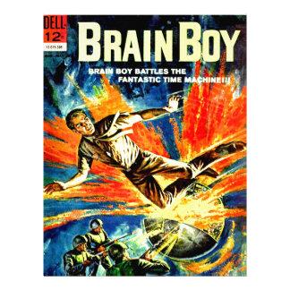 Brain Boy and the Time Machine Letterhead