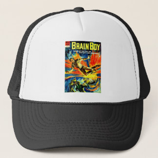 Brain Boy and the Time Machine Trucker Hat