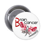 Brain Cancer BUTTERFLY 3