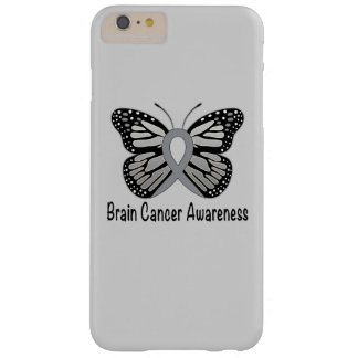 Brain Cancer Butterfly Awareness Ribbon Barely There iPhone 6 Plus Case