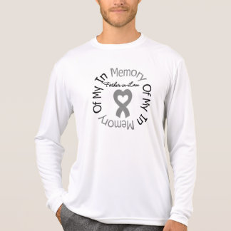 Brain Cancer In Memory of My Father-in-Law T Shirts