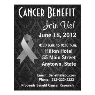 Brain Cancer Personalized Benefit Flyer