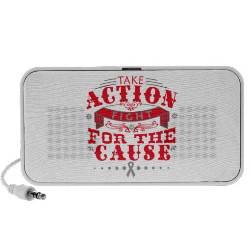 Brain Cancer Take Action Fight For The Cause Mini Speakers