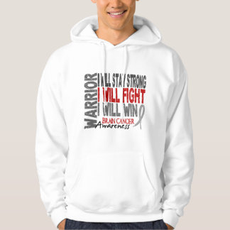 Brain Cancer Warrior Hoodie