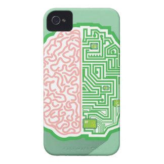Brain Circuit vector iPhone 4 Covers