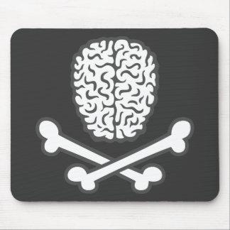 Brain & Crossbones Mouse Pad