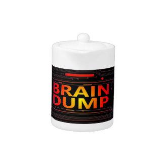 Brain dump concept.
