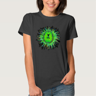Brain explosion psychedelic tee shirt
