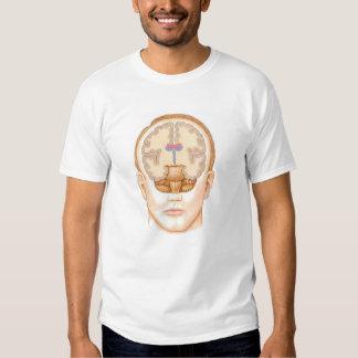 Brain Face T-shirts