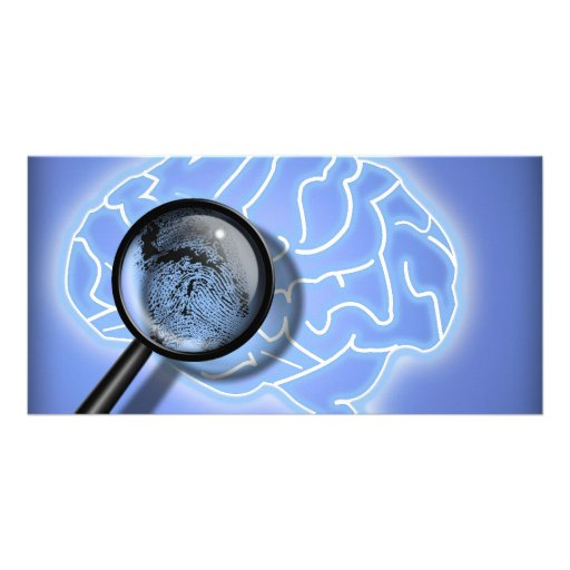Brain fingerprint photo cards