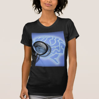 Brain fingerprint t shirt