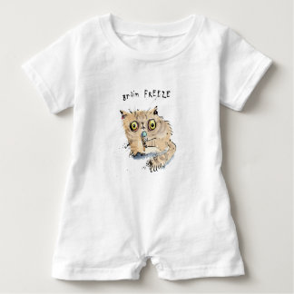 Brain freeze Kitten Baby Romper