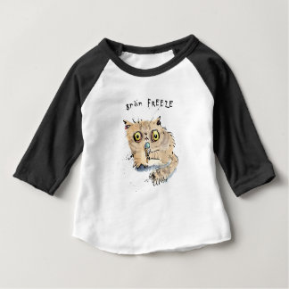 Brain freeze Kitten Baby T-Shirt