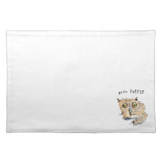 Brain freeze Kitten Placemat