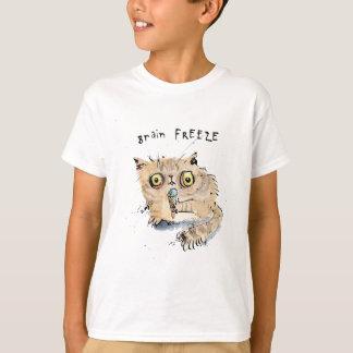 Brain freeze Kitten T-Shirt