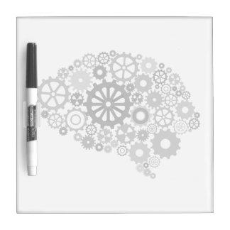 Brain Gears Dry Erase Board