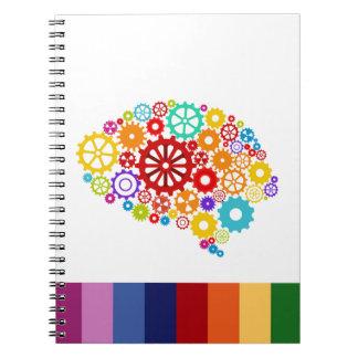 Brain Gears Notebook