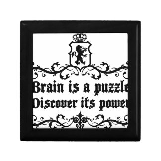 Brain Is A puzzle Discover Its Power Gift Box