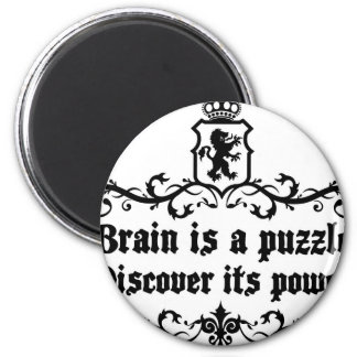 Brain Is A puzzle Discover Its Power Magnet