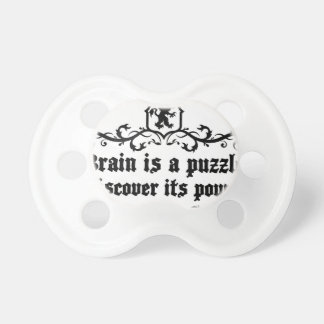 Brain Is A puzzle Discover Its Power Pacifier