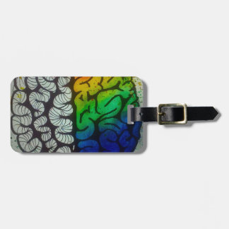 Brain Luggage Tag
