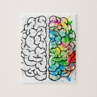 brain mind psychology idea hearts jigsaw puzzle