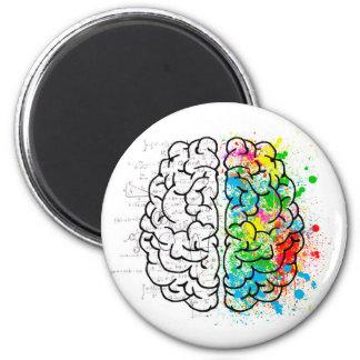 brain mind psychology idea hearts magnet