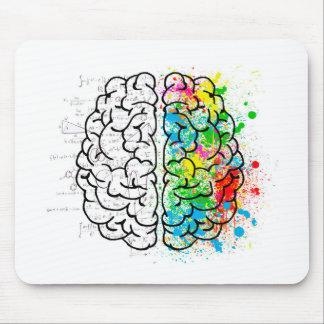 brain mind psychology idea hearts mouse pad