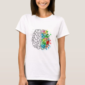 brain mind psychology idea hearts T-Shirt