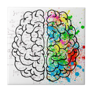 brain mind psychology idea hearts tile