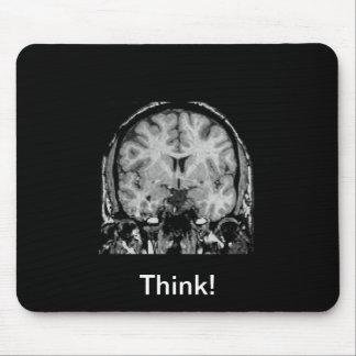 Brain MRI, coronal slice Mouse Pad