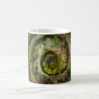 Brain Nebula Violet Coffee Mug